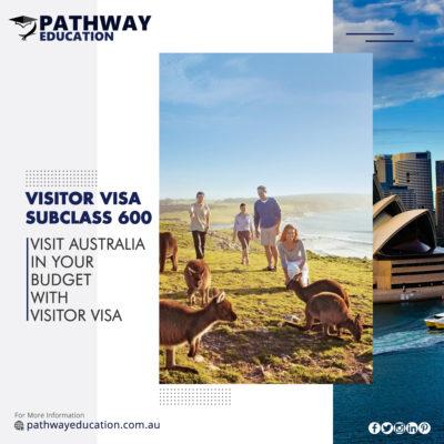 Australian Visitor Visa Subclass 600